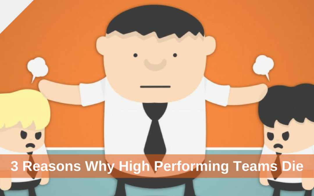 3 Reasons Why High Performing Teams Die