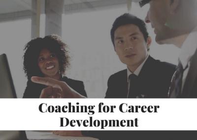 Coaching for Career Development