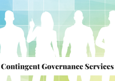 Contract Contingent Governance Manager