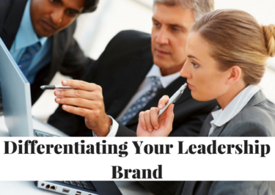 Differentiating Your Leadership Brand