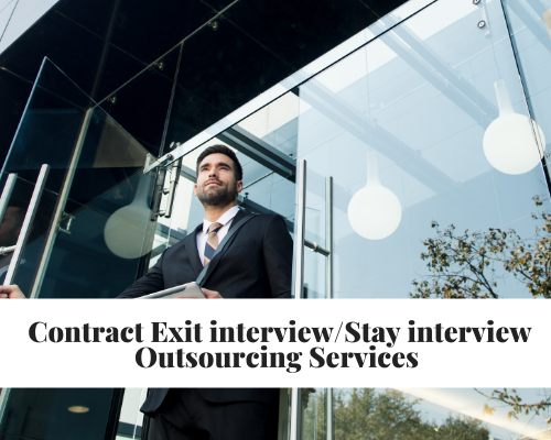 Exit Interview | Stay Interview Outsourcing