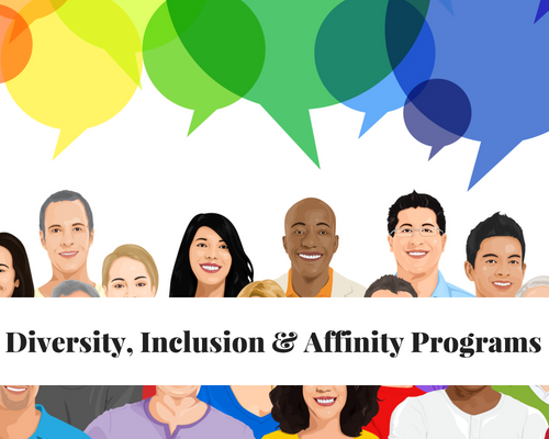 Diversity, Inclusion, Equity and Affinity Programs