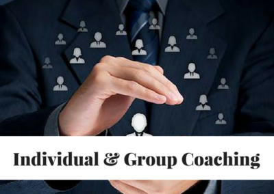 Individual and Group Leadership Coaching