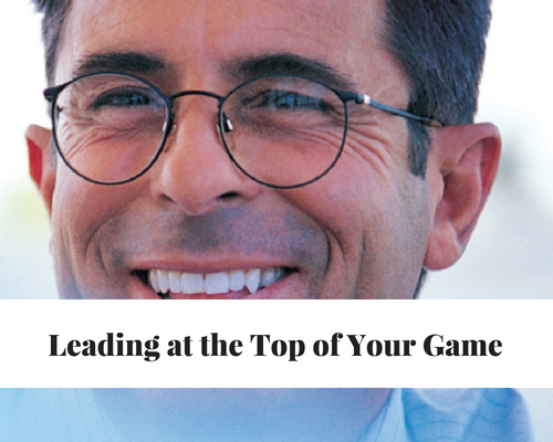 Leading At The Top Of Your Game