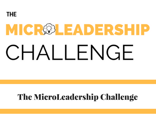 The MicroLeadership Challenge