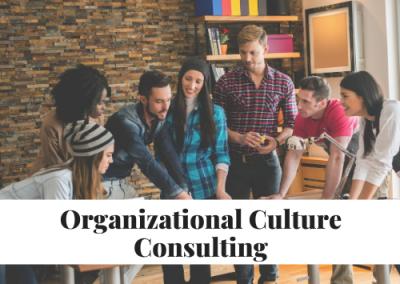 Organizational Culture Consulting