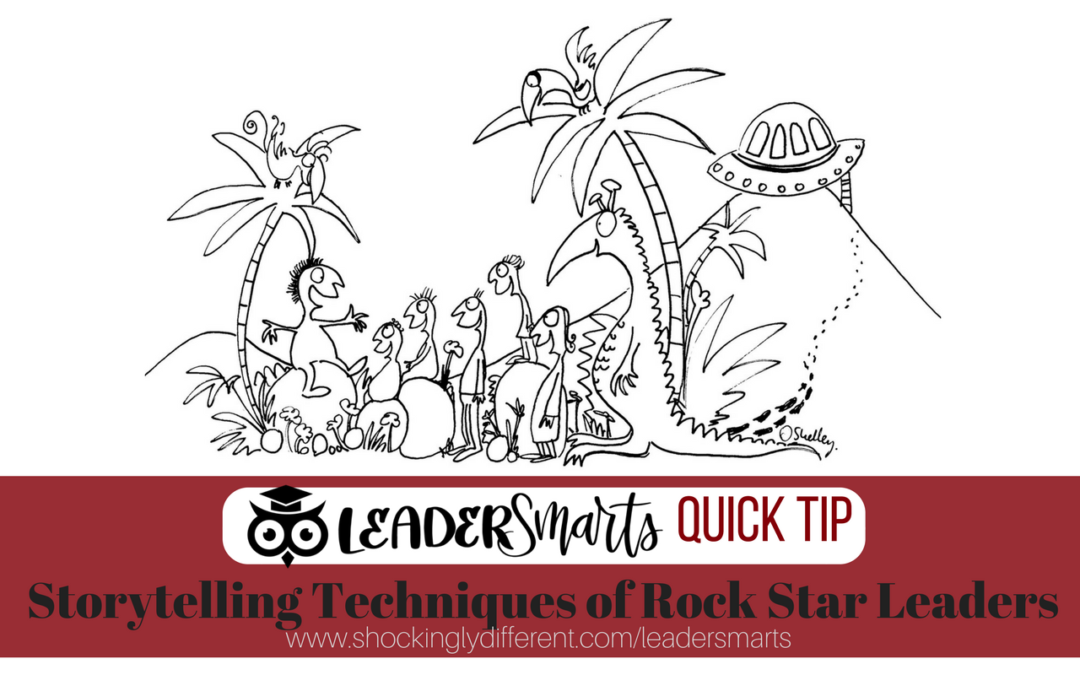 Storytelling Techniques of Rock Star Leaders