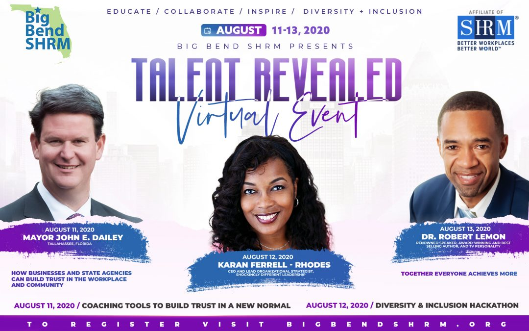 Big Bend SHRM Talent Revealed Conference | Karan Ferrell Rhodes –  Design Thinking Speaker
