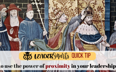 The Leadership Power of Proximity:  Where to sit and why